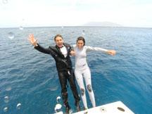 Celebrating on Boat